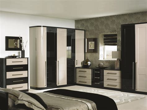 black and cream bedroom bespoke bedrooms traditional modern supafit bedrooms