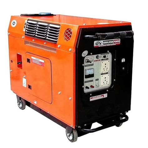 silent ge 3000ps portable generator in india by hpm