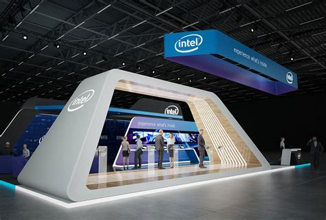 Sq 51 by Intel Exhibition Stand Design Gm Stand Design