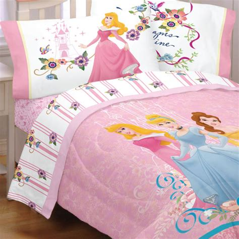 5pc Disney Princess Dreams Full Bedding Set Cinderella Princess Bedding Set