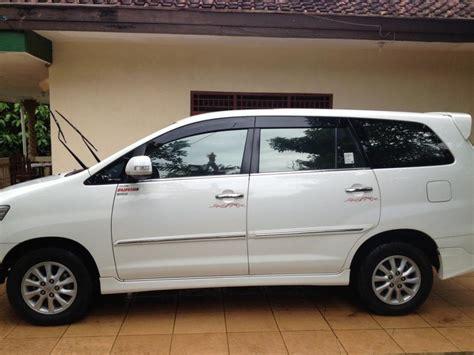 Jual Toyota Innova Tahun 2013 by Toyota Kijang Innova Tahun 2013 V Luxury Mt Putih