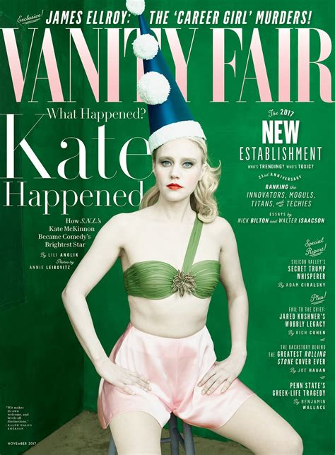 Vanity Fair Magazine Cover July 2017 Cover Story How S N L S Kate Mckinnon Became Comedy S
