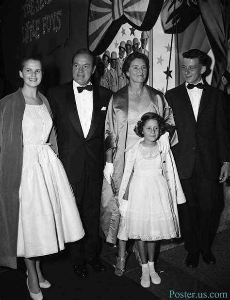 bob hope s wife bob hope and family at hollywood premiere he and his wife