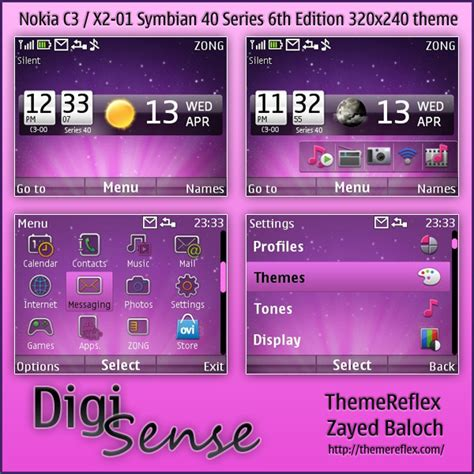 themes for mobile x2 01 digi sense live theme for nokia c3 x2 01 themereflex