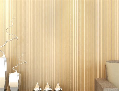 high end home decor high end vertical stripes nonwoven wallpaper for home
