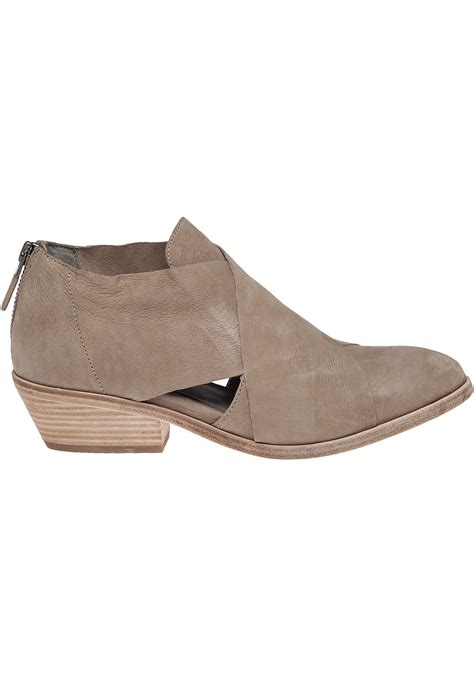 eileen fisher shoes eileen fisher cluster nubuck leather boots in brown earth