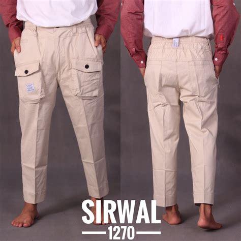 Diskon Celana Sirwal Kantong Depan samase 1270 02 sirwal kargo warna samase clothes