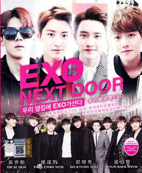 download film exo next door eps 1 sub indo exo next door dvd korean tv drama 2015 episode 1 16