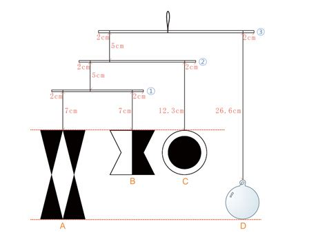 montessori mobile printable how to assemble munari visual mobile m vita montessori