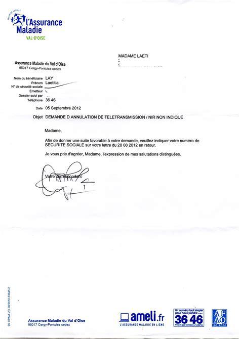 Exemple De Lettre Securite Sociale Une Des Absurdit 233 De La 171 Cpam 171 Quotidien D Une Citoyenne