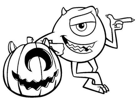 halloween coloring pages monsters monsters inc halloween coloringkids org coloring kids