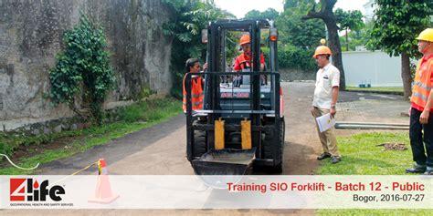 cara membuat sio forklift perusahaan penyedia training forklift di kawasan industri