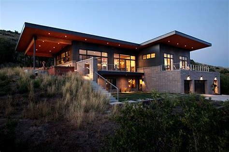 Home Design Utah by Jetson Green Million Dollar Eco Modern Home In Utah