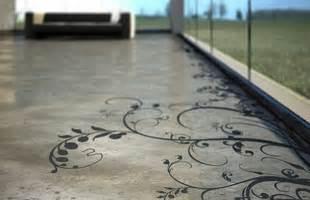 Decorative Floor Painting Ideas Painted Concrete Floors