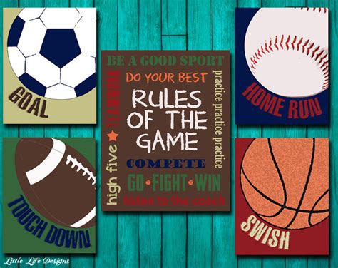 sports decor sports nursery boy room decor of the