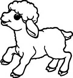 color sheep free sheep outline coloring page coloring home