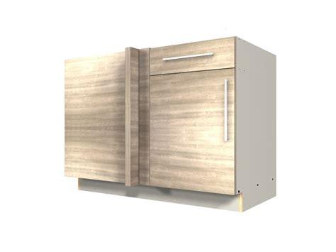 1 Door 1 Drawer Blind Corner Base Cabinet Blind On Left Blind Drawer
