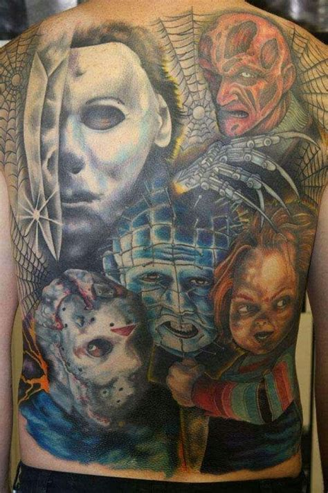 bali tattoo horror stories aww my hubby s horror movie back piece story of my life