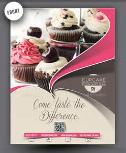 Free Bakery Flyer Templates by 20 Cupcake Flyer Design Psd Design Trends