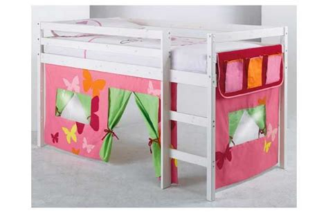 Shorty Mid Sleeper Bed With Tent by 17 Best Images About Bed Tent On Loft Beds