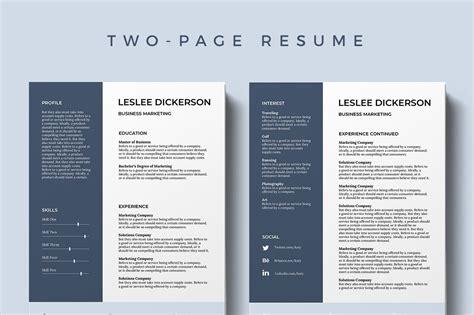 best free templates 75 best free resume templates of 2019
