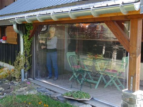 Rideau Plastique Transparent by Rideau Plastique Transparent Pour Terrasse Id 233 Es D