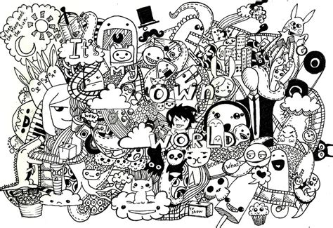 doodle world doodle it s my own world by black paradox on deviantart