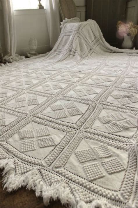 lace coverlet bedding vintage french crochet bed cover coverlet bedspread lace