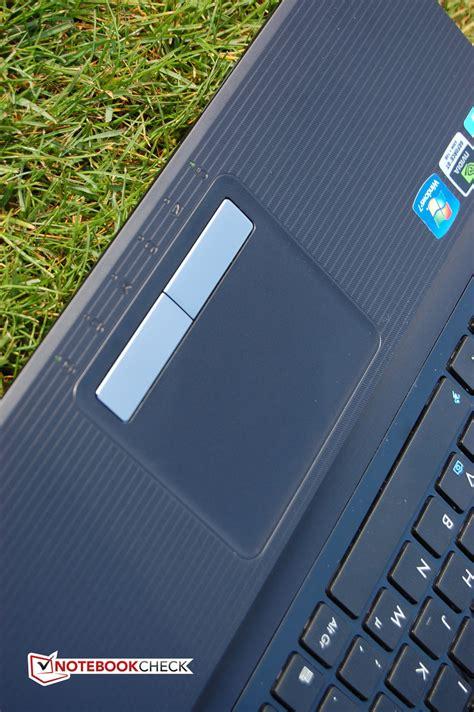 Touchpad Notebook testrapport asus k93sm yz085v notebook notebookcheck nl