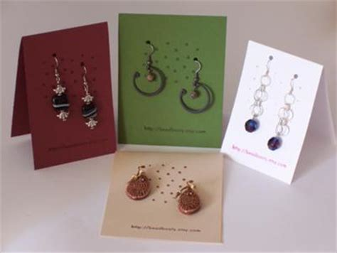 Earring Cards And The Perceived Value Of Said Earrings Auntie Kate The Resale Expert Jewelry Hang Tags Templates