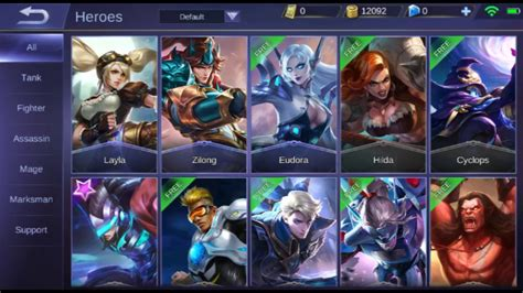 mobile legends bang bang  heroes   january