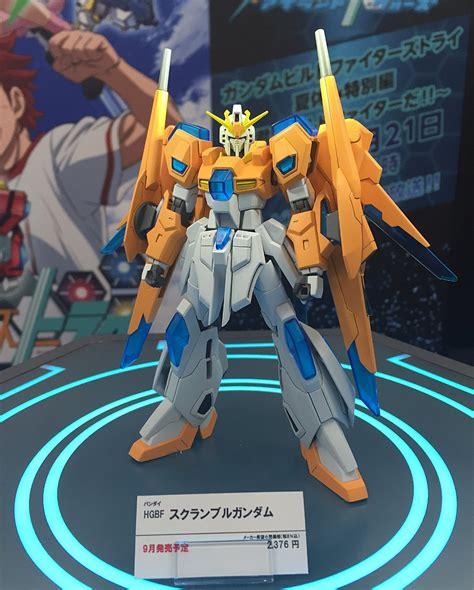 Hgbf 1 144 Scramble Gundam Yajima Engineering gundam hgbf 1 144 scramble gundam tentative name on display images