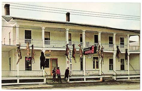 Eagle Hotel in Downsville - Delaware County NY Genealogy ...