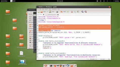 tutorial linux kernel programming linux kernel module programming 04 passing arugments to
