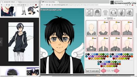 Anime Character Creator by Sev Litch Rinmarugames Anime Avatar Creator