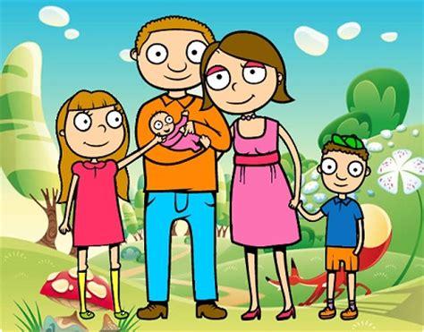 imagenes en movimiento de una familia imagenes de una familia en dibujos dibujos faciles de hacer