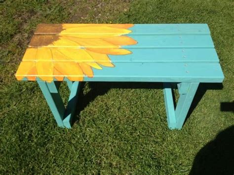 painted bench ideas 25 best ideas about painted benches on pinterest