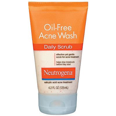 Acne Gentle Scrub neutrogena free acne wash daily scrub ulta cosmetics fragrance salon and gifts