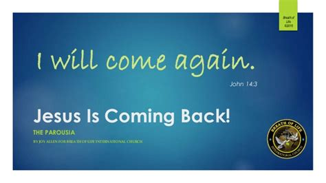 Is House Coming Back by Jesus Is Coming Back
