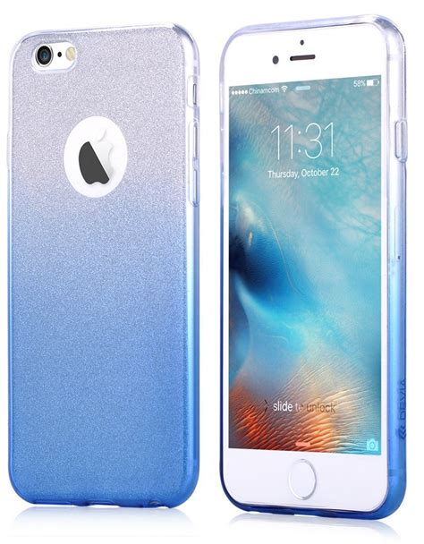 Devia Iphone 6 6s devia sparkling for iphone 6 6s blue icentre