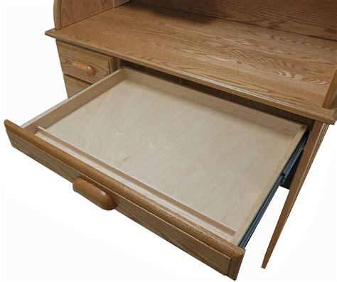 oak roll top computer desk 42 quot w solid oak single pedestal roll top laptop desk