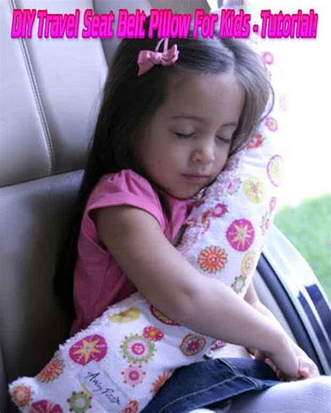 diy travel seat belt pillow for tutorial lil moo
