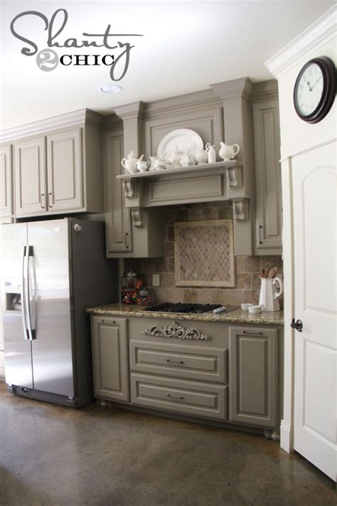 remodelaholic grey and white kitchen makeover