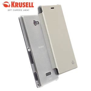 Casing Krusell For Sony Xperia M krusell boden sony xperia m2 flipcover white