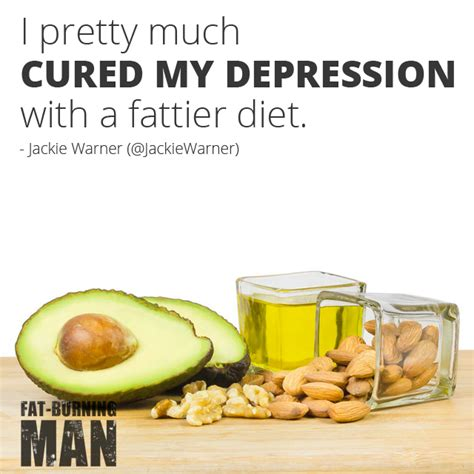 healthy fats and depression jackie warner why exercise is like a burning