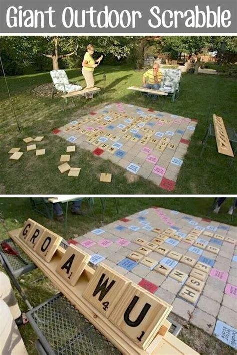 backyard scrabble 1000 ideas about wooden scrabble tiles on pinterest