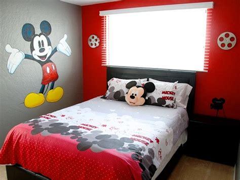 Mouse Untuk Desain 10 desain kamar tidur mickey mouse yang paling disukai anak