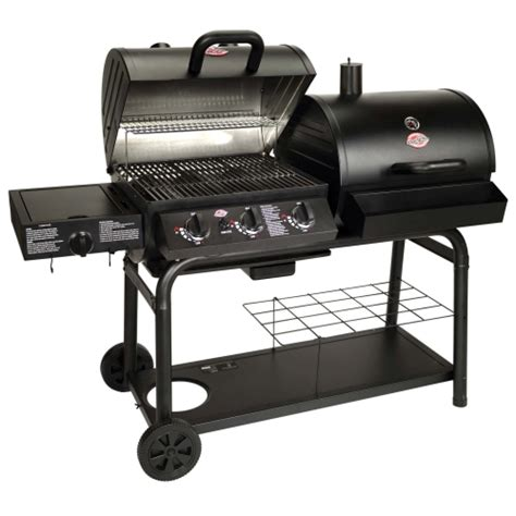 ace hardware bbq char griller 174 duo gas grill smoker 789792050508