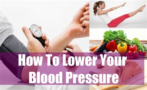 ways to lower blood pressure naturally tips to lower