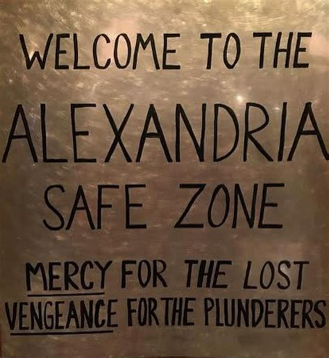 welcome to the alexandria safe zone the walking dead